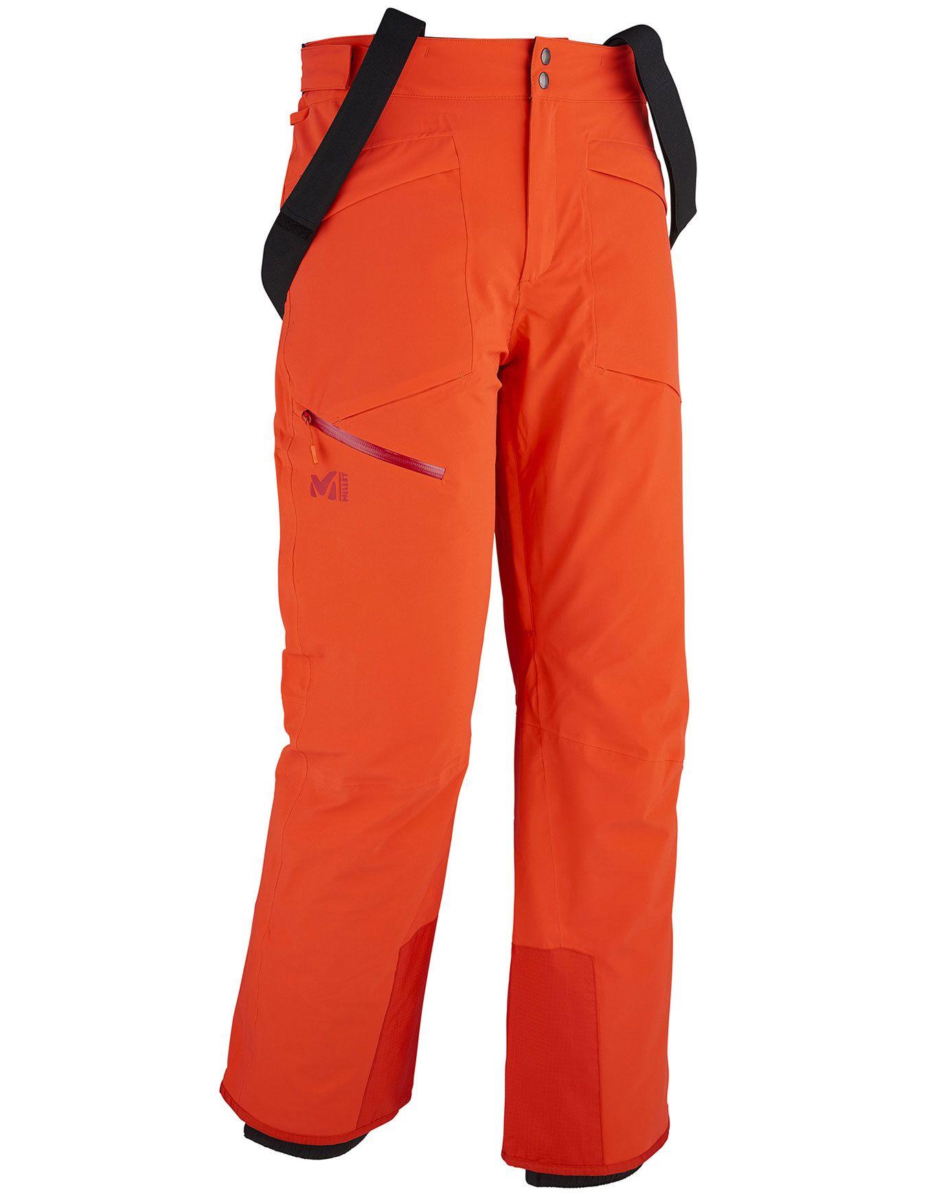 atammik stretch pant orange millet pantalons ski. Black Bedroom Furniture Sets. Home Design Ideas
