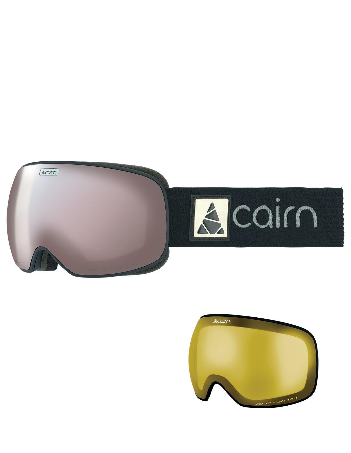 Cairn Black Snowleader Masques Spx3000 De Silver Ski Mat Gravity w1qzfg7v 10f0930d63e9