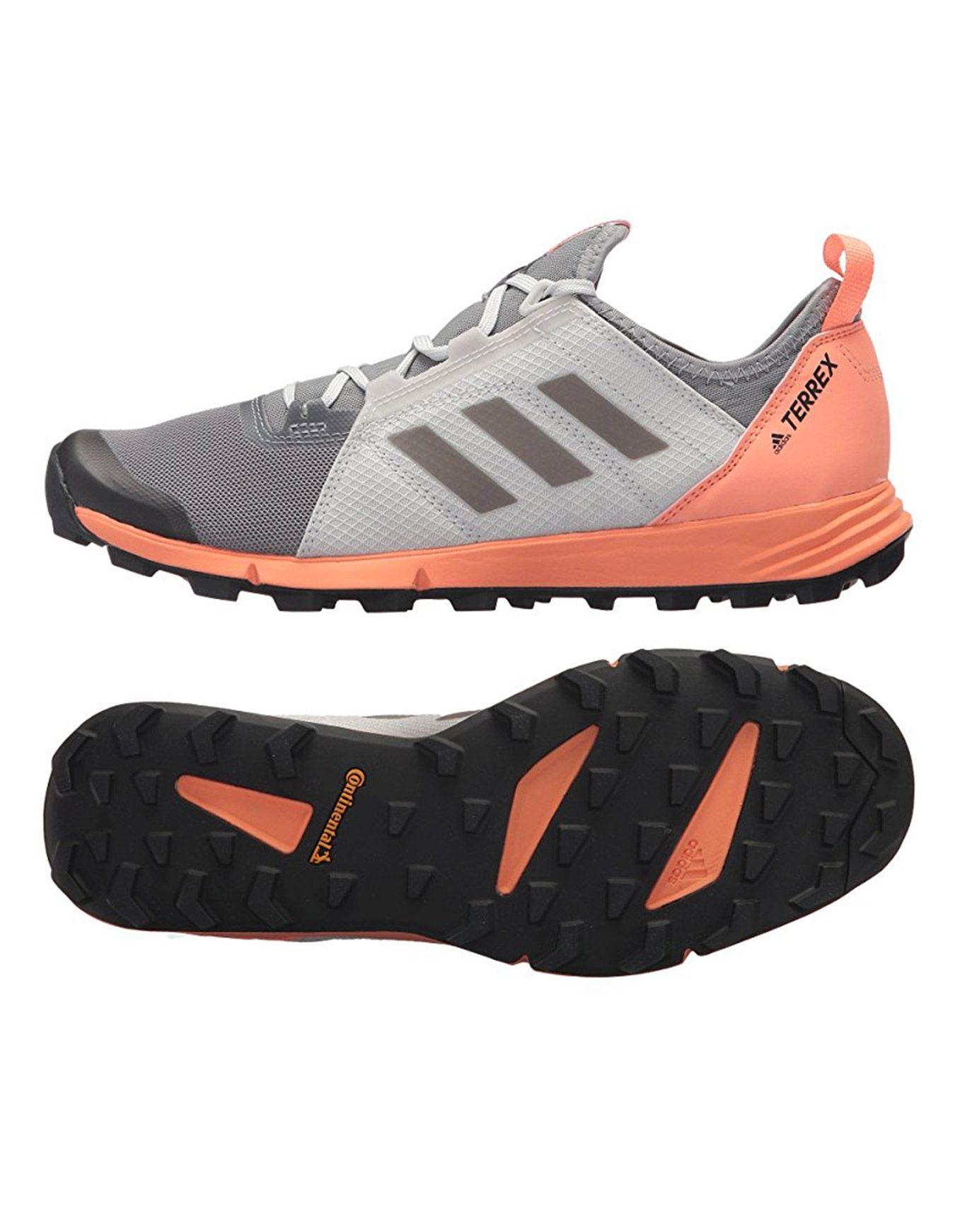 Terrex Agravic Speed W Gris Noir Coral adidas terrex : Chaussures
