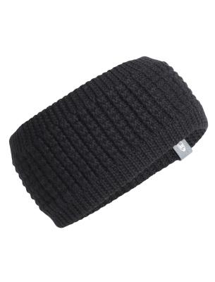 Adult Affinity Headband Black/Metro HTHR