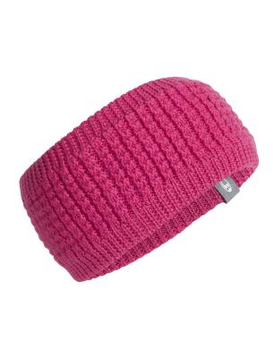 Adult Affinity Headband Pop Pink/Metro HTHR