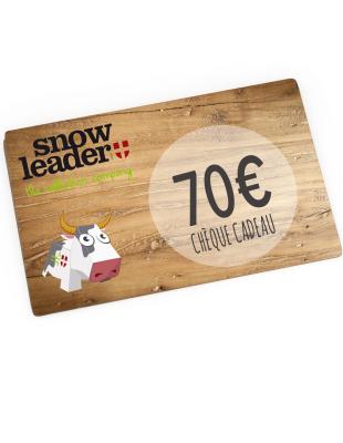 Carte cadeau virtuelle 70€