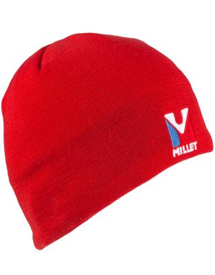 Active Wool Beanie Rouge