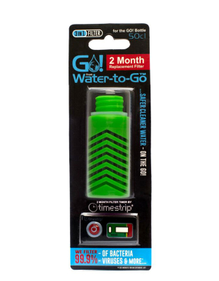 Filtre vert pour gourde Water-To-Go City