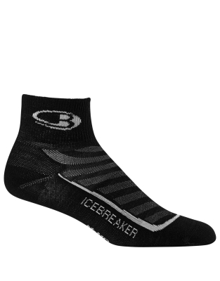 Socks Run+ Ultralight Mini M Balck/Pearl