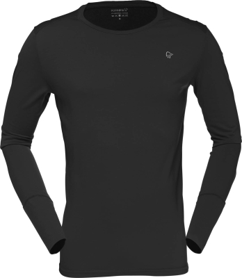 Wool Round Neck (M) Caviar