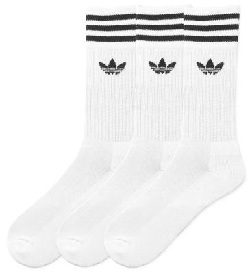 Solid Crew Socks Pack White/Black