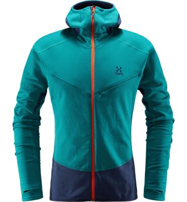 L.I.M Touring Hood Men Alpine Green/Tarn Blue