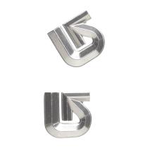 Achat Al Logo Mat Silver