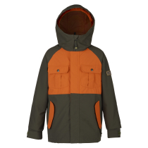 Achat Boys Fray Jacket Forest Night/Mauset