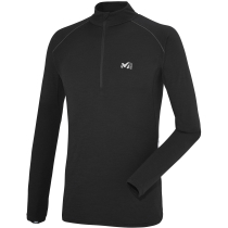 Achat C Wool Blend 150 Zip Ls Black - Noir