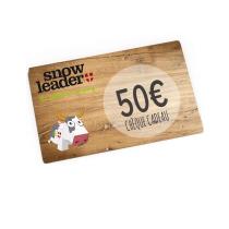 Achat Carte Cadeau 50€