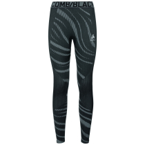 Achat Collant Performance Blackcomb Black-Odlo Concrete Grey