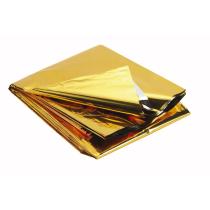 Achat Couverture de survie dorée