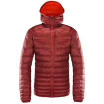 Achat Essens Down Hood Men Dark Ruby/Habanero