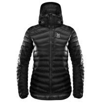 Achat Essens Down Hood Women True Black/Magnetite
