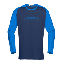Achat Fjora Equaliser Lightweight Long Sleeve (M) Indigo Night