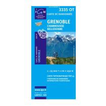 Buy Grenoble Chamrousse Belledonne 3335OT