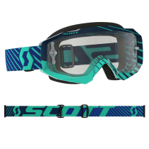 Buy Hustle MX LS Blue/teal Clear Works