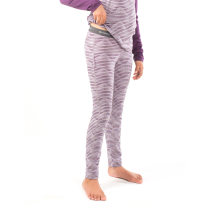 Buy Kids Oasis Leggings Diamond Line Silk Hthr/Eggplant
