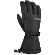 Achat Leather Titan Glove Black