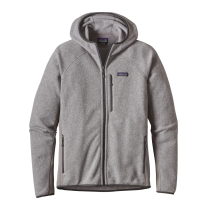 Achat M's Performance Better Sweater Hoody Feather Grey