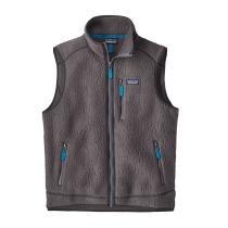Buy M's Retro Pile Vest Forge Grey