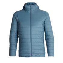 Mens Hyperia Hooded Jacket Granite Blue/Prussian Blue