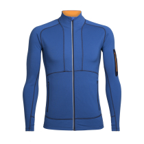 Achat Mens Tracer Ls Zip Sea Blue/Koi