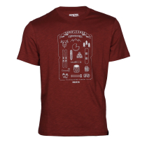 Kauf Mountain Kit Tee Burgundy