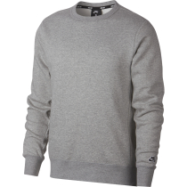 Achat Nike SB Icon Crew Fleece Essential Dk Grey Heather/Black