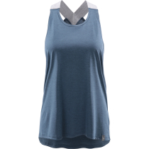 Achat Ridge Tank Women Tarn Blue