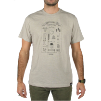 Achat T-Shirt Mountain Kit Gris Chiné