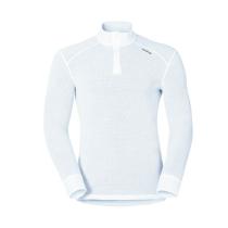Achat T Shirt ML Warm Zip White