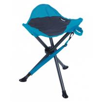 Tabouret Acier Gris Turquoise
