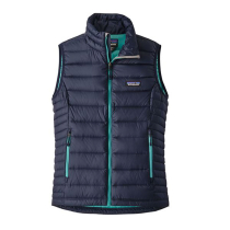 Achat W's Down Sweater Vest Navy Blue Strait Blue