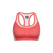 Buy Wmns Meld Zone Sport Bra Poppy Red/Sorbet
