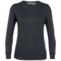 Achat Wmns Muster Crewe Sweater Char Heather