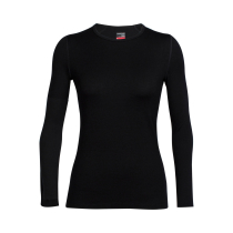 Buy Wmns Tech Top LS Crewe Black