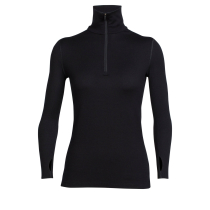 Achat Wmns Tech Top LS Half Zip Black