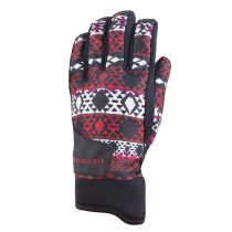 Achat Wms Crush Glove Red Nordic Print
