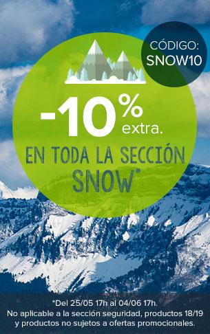 ¡-10% extra en toda la sección SNOW!