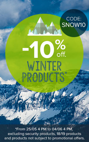 -10% off on Winter Products!