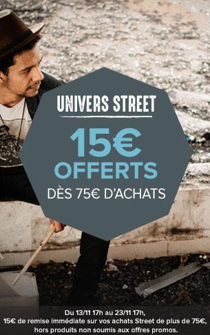 15€ offerts dès 75€ d'achats