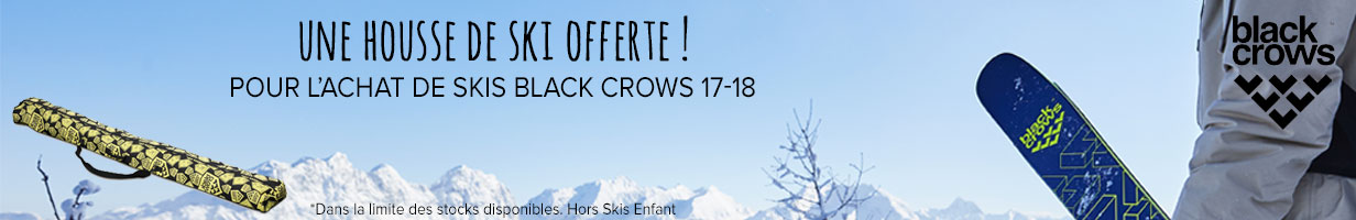 Une housse Black Crows offerte sur la nouvelle collection 17-18