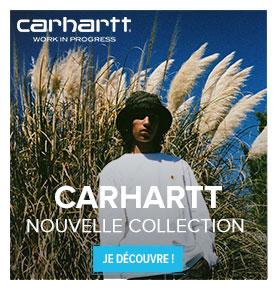 Découvrez la nouvelle collection Carhartt !