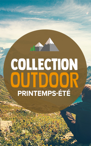 Nouvelle collection Outdoor Printemps-été