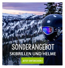Sonderangebot helme/skibrillen Snowleader
