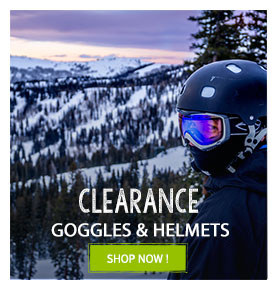 Clearance helmets and goggles Snowleader
