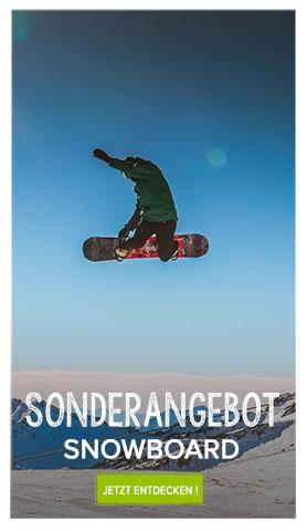 Sonderangebot Snowboard Snowleader